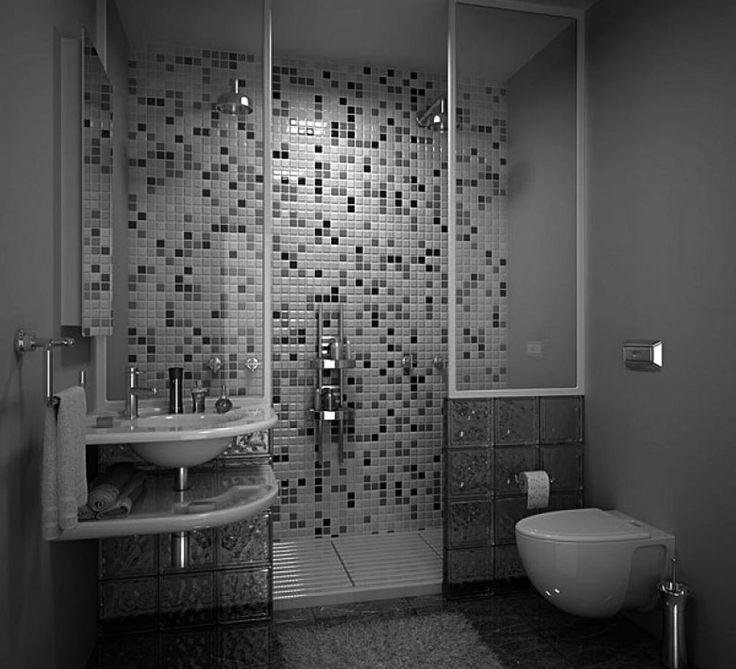 BLACK AND WHITE BATHROOM IDEAS UK - http://www.homedesignstyler.com/photos/bathroom/black-and-white-bathroom-ideas-uk.html