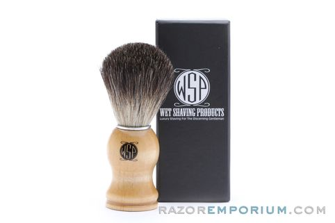Buy Black Badger Brush with Wood Handle