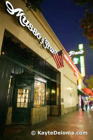 50 best images about musso frank grill on pinterest menu covers the big sleep and restaurant - Musso and frank grill hollywood ...