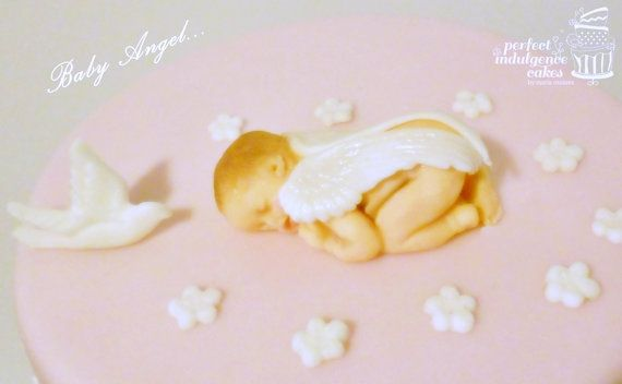 Fondant Baby with Wings