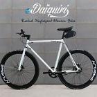 EBike Electric Bike 700c eDaiquiri WHITE Single Speed Bicycle e-bike Sizes:S/M/L
