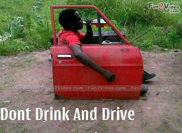 Drunk Driving Funny Picture  [ More Funny Pictures: http://www.fun2video.com ]