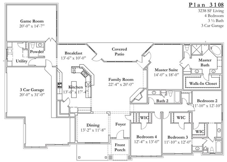 25 Best Ideas About Texas House Plans On Pinterest