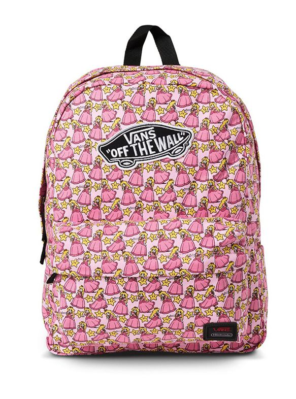 Vans x Nintendo Princess Peach Backpack,. Find this Pin and more on sac à  dos ...