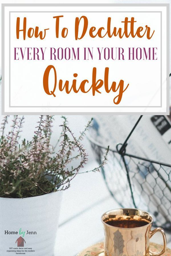 How to declutter every room in your home quickly - How to declutter your bedroom fast ...