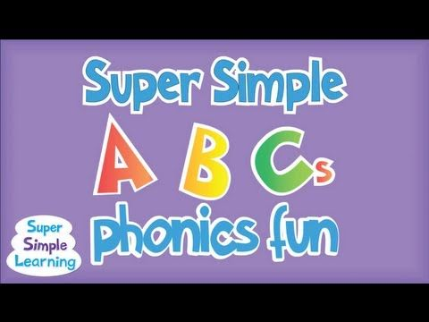 super simple abcs phonics song: r - z great for reviewing the sounds