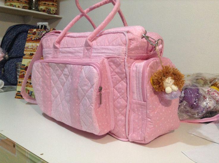 Bolsa BiBi,...como fazer uma bolsa maternidade