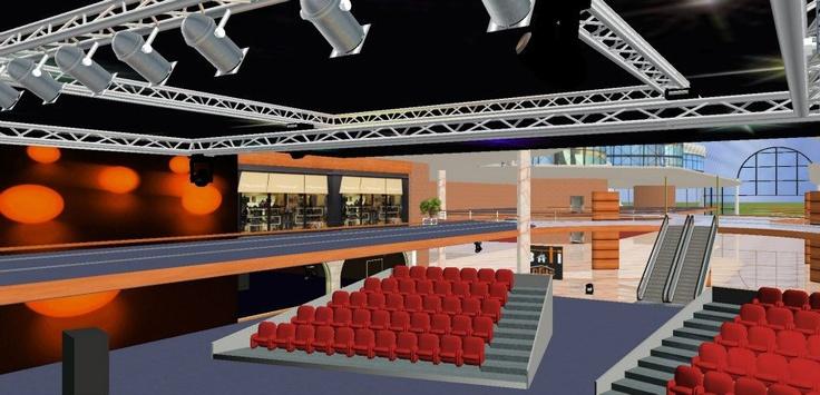 Salle de concert du salon 3d Batilogis