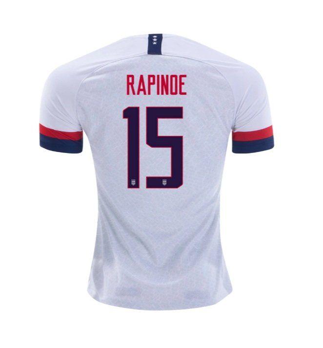 Nike Megan Rapinoe 15 Uswnt Men S Home Jersey 2019 2020 White Canada Copaamerica Football Soccer Goldcup2019 Mexico Megan Rapinoe Soccer Jersey Uswnt