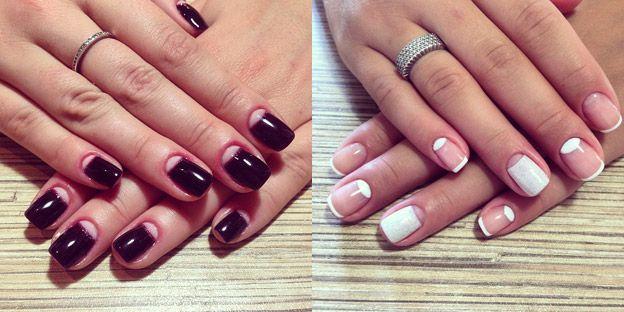 Shellac #manicure: 50 beautiful nail design ideas