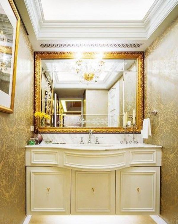 Bathroom Interior Design By Neoclassical Style