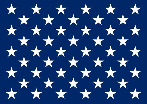The Is A Stencil Of Fifty Stars In The Same Layout As The American Flag This Is The Perfect Way To Get Those Flawless Star Stencil Star Template Square Paper