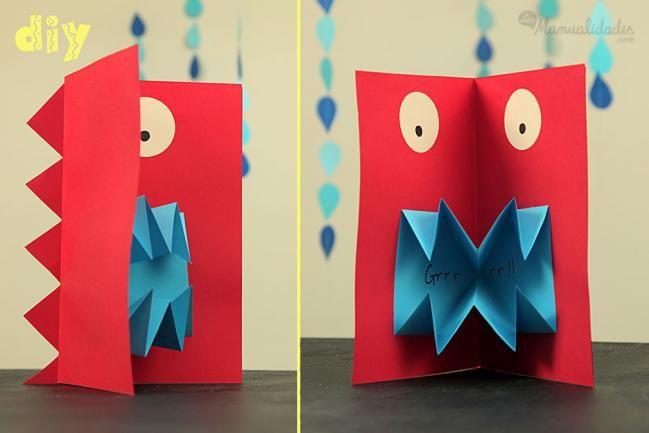 Cómo hacer tarjetas pop up - IMujer