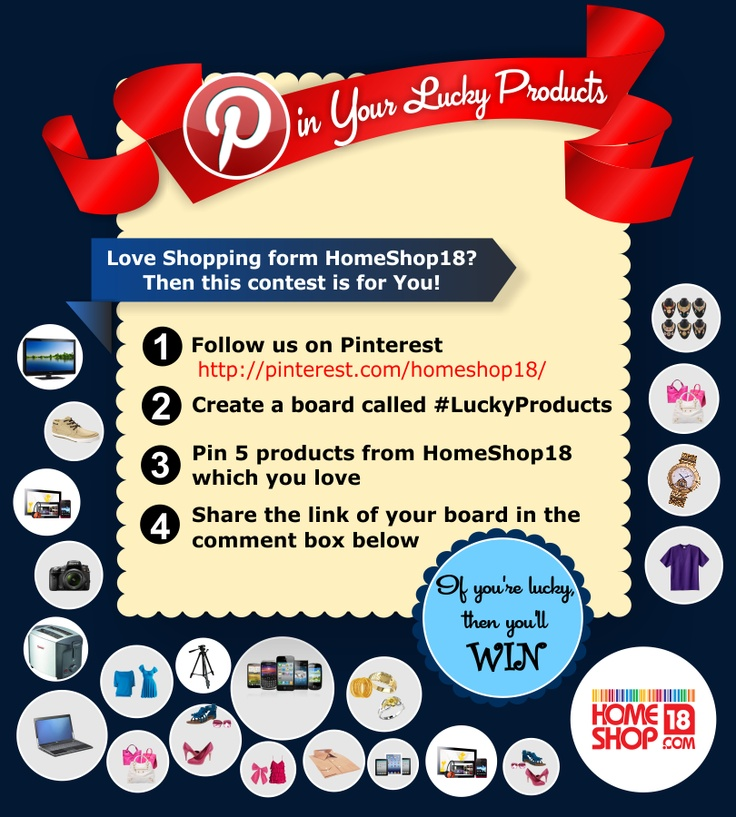 Pinning for winning, My Lucky Products