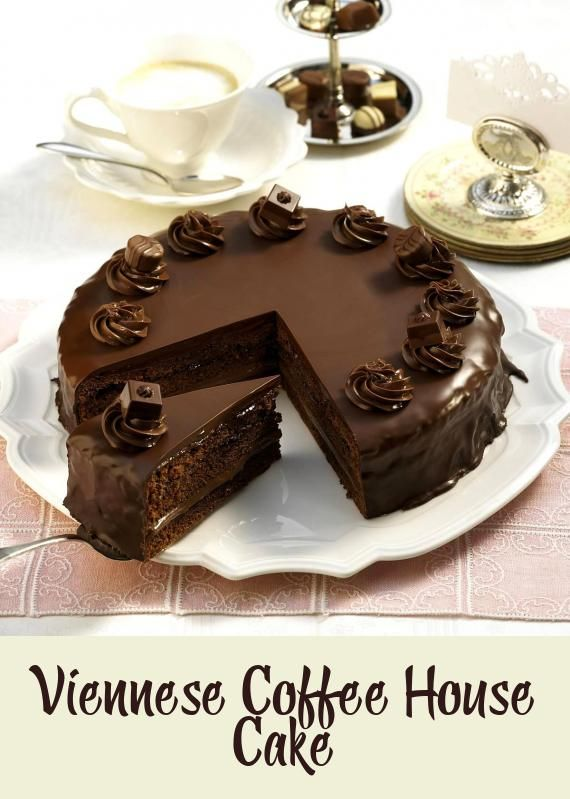 Viennese Coffee House Cake Cakes Pastries Cakes Pastries In 2020 Fun Baking Recipes House Cake Cake