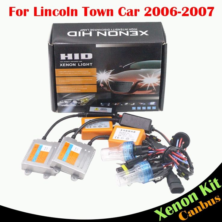 58.55$  Buy here - http://aix6r.worlditems.win/all/product.php?id=32791836599 - For Lincoln Town Car 2006-2007 55W H7 Car Canbus HID Xenon Kit Bulb Ballast AC 3000K-8000K Automotive Light Headlight Low Beam