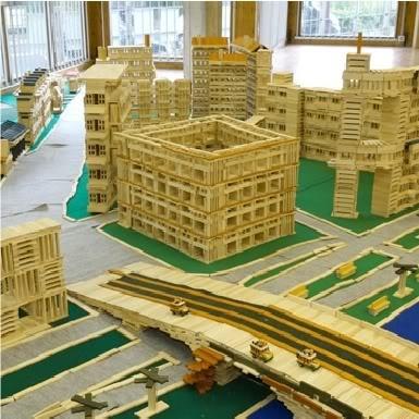 Kapla Wooden Building Blocks Creative Toys - www.vubx.com