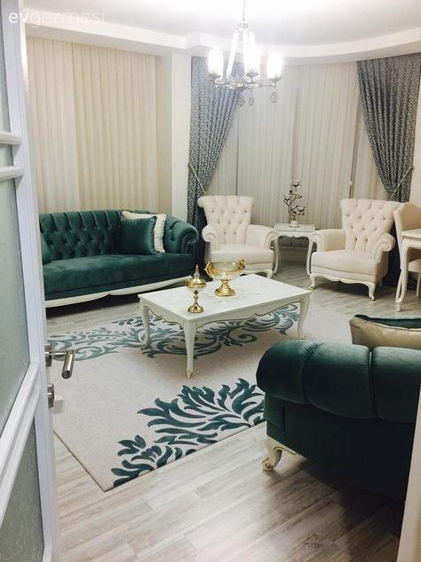 Dekoratif objelerle zenginleşen, sakin ve şık bir ev: Merve hanımın evi.