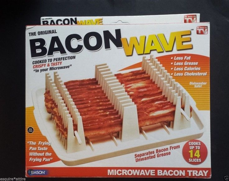 #home  ebay The Original bacon Wave MICROWAVE BACON TRAY new in box by EMSON withing our EBAY store at  http://stores.ebay.com/esquirestore