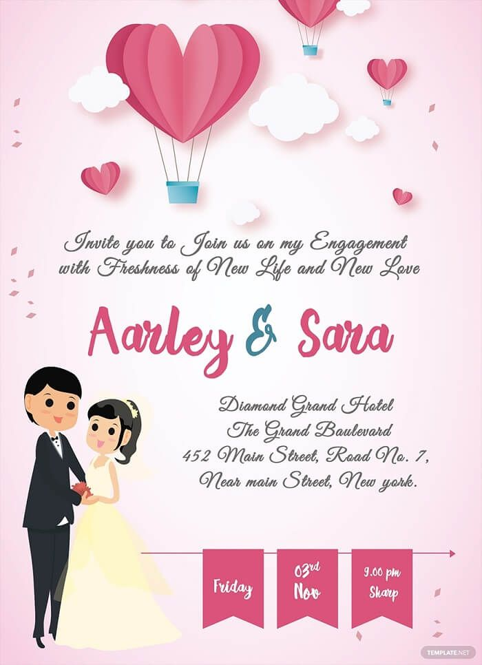Creative Invitation Card Designs For Your Engagement Jazz Up And