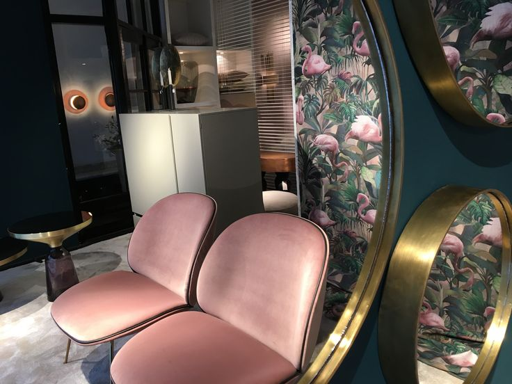 Italian touch Gubi chair by Byron & Jones