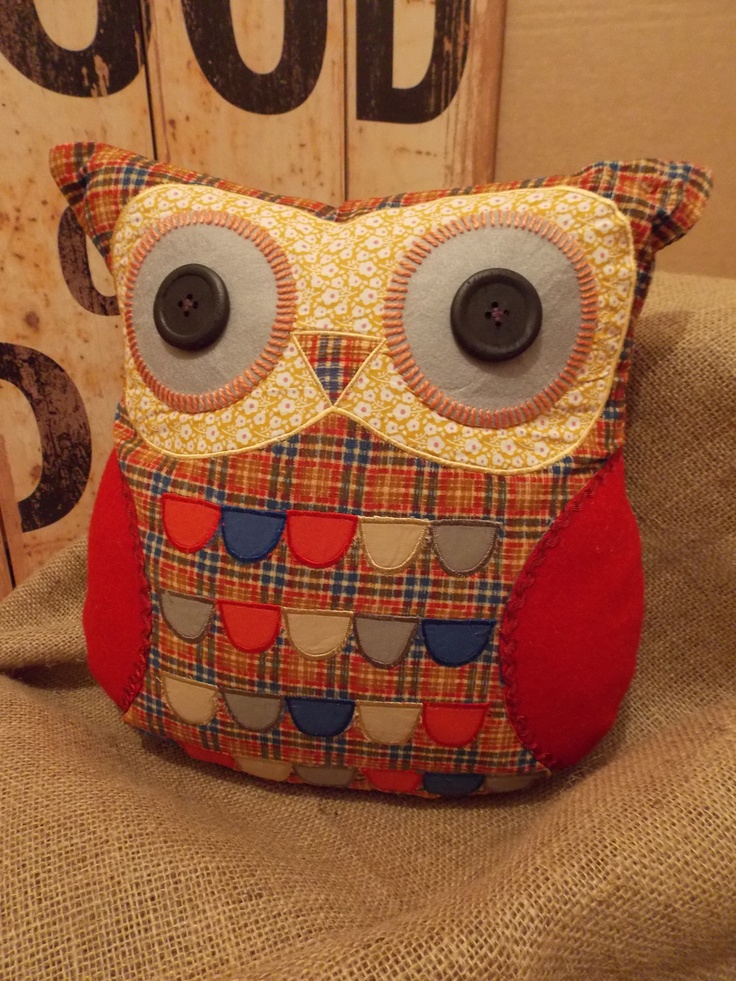 Vintage Hamish Owl Cushion from Sass & Belle, £15.50