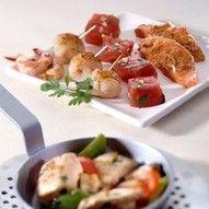 Gourmet met vis