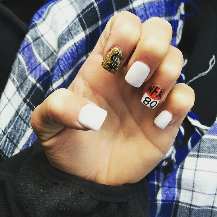 National Finals Rodeo nails #NFRnails