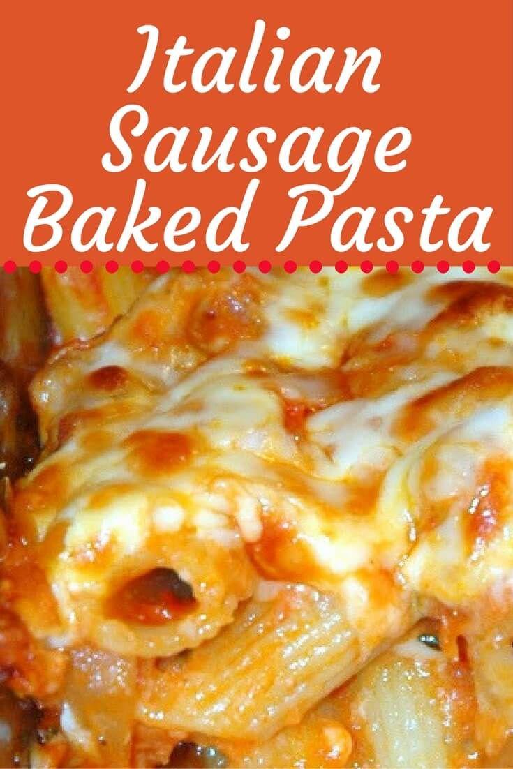 Best 25 italian sausage recipes ideas on pinterest veggie italian sausage baked pasta forumfinder Choice Image