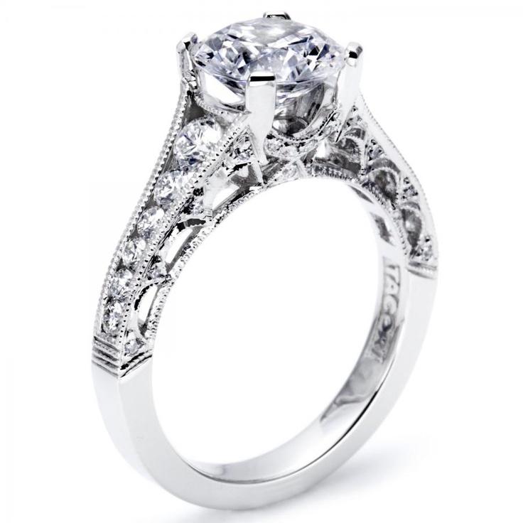 119 best Tacori Engagement Rings images on Pinterest Tacori