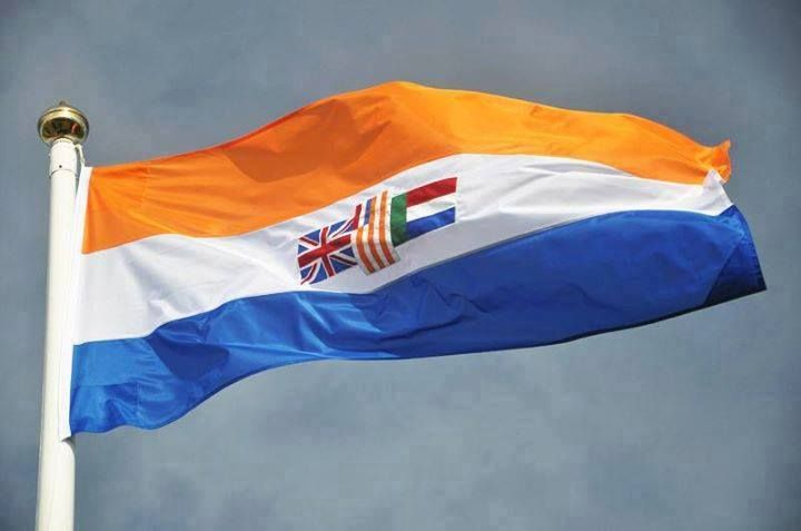 Old South African national flag, 1928 - 1994