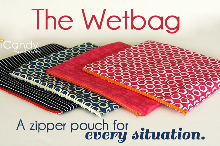 icandy handmade:Wetbags--bags to store treats....stuff that might leak (like lotion) or wet swimsuits!!!