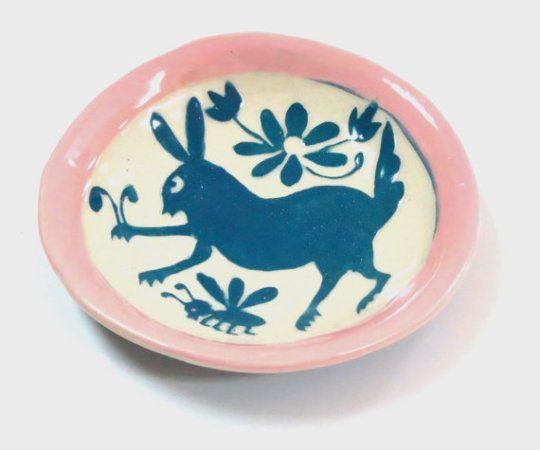 Rabbit Jewellery Dish // TheClayBungalow
