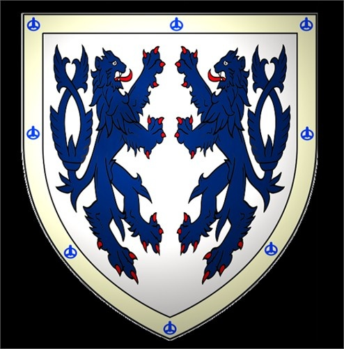 "English: arms of the Carter of Castle Martin, ref: The general armory of England, Scotland, Ireland, and Wales; comprising a registry of armorial bearings from the earliest to the present time. by Burke, Bernard, Sir, 1814-1892. Crest—Lions, rampant, combatant. Carter is an occupational name meaning ""a maker or driver of carts"". FAMILY MOTTO: VICTRIX PATIENTIA DURIS (Latin) - meaning ""patience is victorious in hardship"".Patientia Durie, General Armory, Design Ideas, Families Crest, Armory Bears, Crest Lion, T Shirts Design, Families Mottos, Castles Martin"