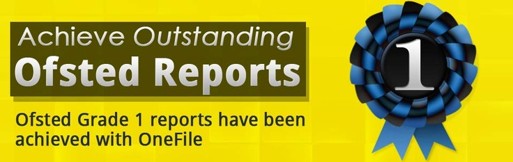 Achieve Outstanding Ofsted Reports, Ofsted Grade 1 reports have been achieve with OneFile - a market-leading provider of online assessment software for apprenticeships, QCF, NVQ, SVQ and BTEC - learner management systems, ILPs ande-Portfolios.