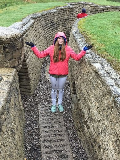 Fort Saskatchewan's Rebecca Lappa won a trip to Vimy Ridge in October after her original song, Valiant of Vimy Ridge, was selected in a social media contest held in the spring.