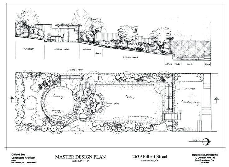 Landscape Architecture Plan Drawings Best Landscape Plan Drawing
