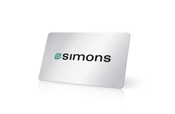 Carte Cadeau SIMONS