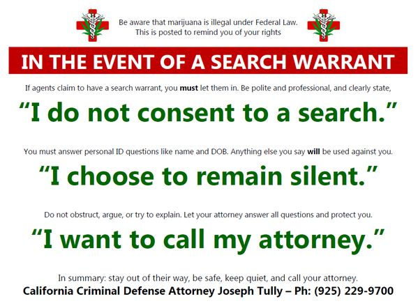 Weed 911: Who to Call When the Cops Knock - Tully & Weiss Attorneys at Law