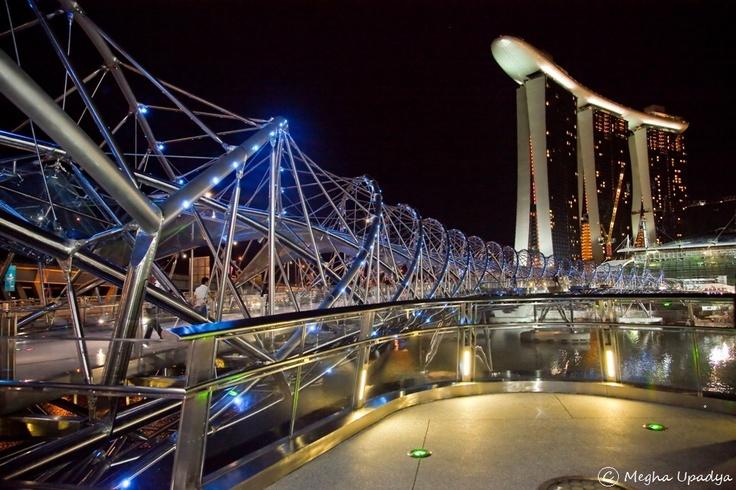 The imposing Marina Bay Sands, Singapore