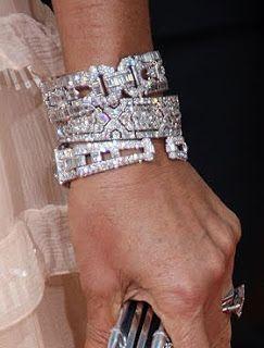 A Luxury Life | Rosamaria G Frangini | Cartier Diamond Bracelets 〽️