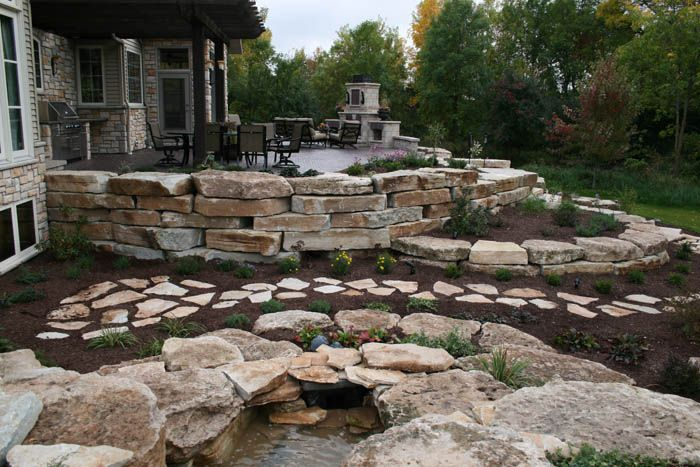 17 best images about natural stone on pinterest drywall for Natural stone walkways