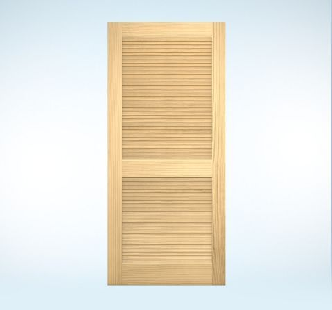 Interior Doors Authentic Wood Louver For The Home Pinterest