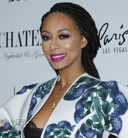 In a recent interview, Keri Hilson dished many on things, including her eye-catching waist length braids that's undoubtedly become her go-to style.