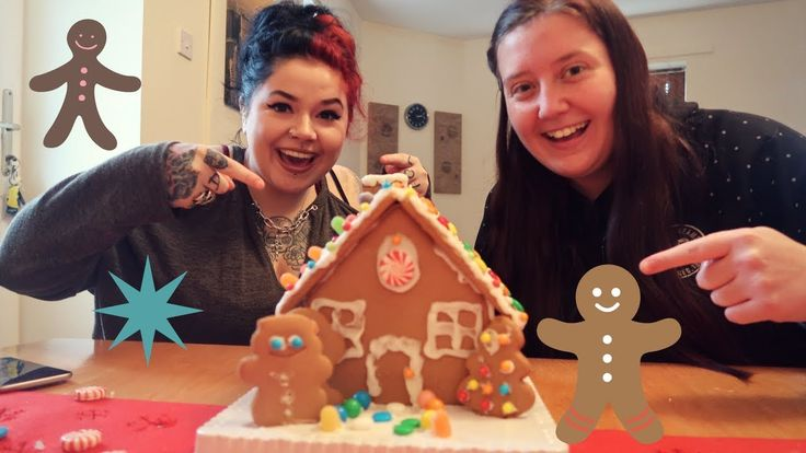 Building A Gingerbread House || Autism Days of Christmas #3