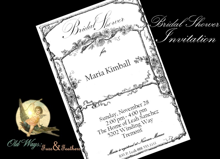Pinterest Wedding Invite for awesome invitation ideas