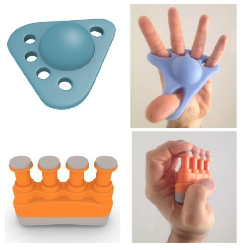 TOP RATED Hands & Fingers Kit - Best Training Bundle Of 2 Exercisers - 1 Hand Extender Gripper & 1 Finger Strengthener - Ultimate Hand Grip Extension & Finger Workout For Athletes & Musicians - Great Exerciser Kit For Guitar Violin Cello & Piano Players - For Music Sports Martial Arts CrossFit & Rock Climbing - Lifetime Money Back Guarantee - GIVE YOUR HANDS WAY MORE THAN A STRESS BALL & GET SISO-HAND TODAY (23% OFF) WHILE STOCKS LAST! Simply Solutions…