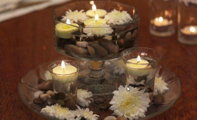 INSPIRAÇÃO: 30 centros de mesa de arrancar suspiros | Casar é um barato - Blog de casamento