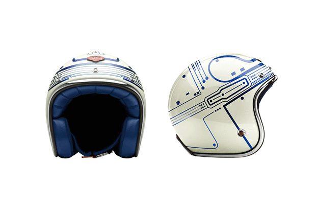 TRON x Les Ateliers Ruby Helmets