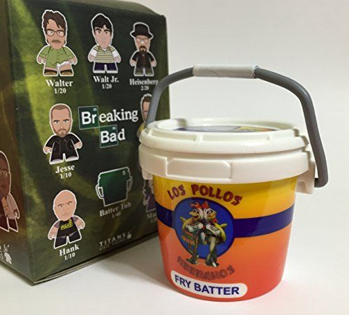 Breaking Bad Titans Collection Fry Batter Tub Mini Figure @ niftywarehouse.com #NiftyWarehouse #BreakingBad #AMC #Show #TV #Shows #Gifts #Merchandise #WalterWhite